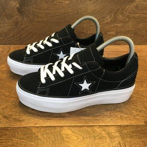 NEW Converse One Star Platform Ox Sneakers Size 5
